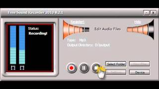 How to Record Audio into MP3, WMA or WAV Format Easily and Quickly [100% Free Software]