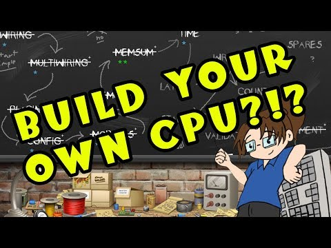 Let's Try: Silicon Zeroes -- Build Your Own CPU?!?