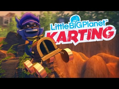 LittleBigPlanet Karting With Sly Cooper - Cloud Island