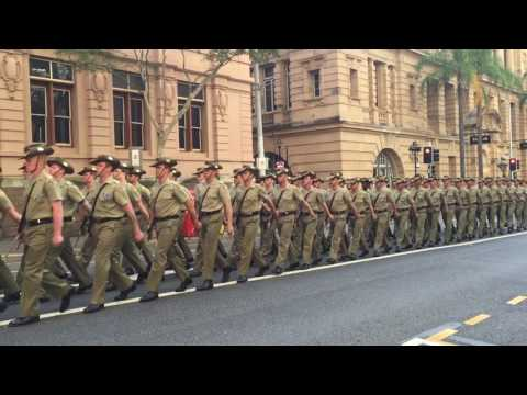 20161029 Freedom of Entry to the City of Brisbane Parade