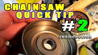 Chainsaw Quick Tip #2 - HOW-TO Properly Install A Clutch Drum On Stihl Saws