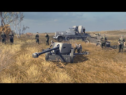 Gates of Hell | Luftwaffe Close Air Support During Tank Battle | Gates of Hell Multiplayer Gameplay