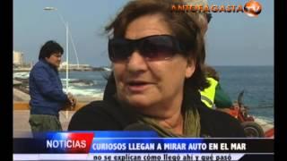 Jeep termina en piscina de Paseo del Mar | Antofagasta TV Noticias