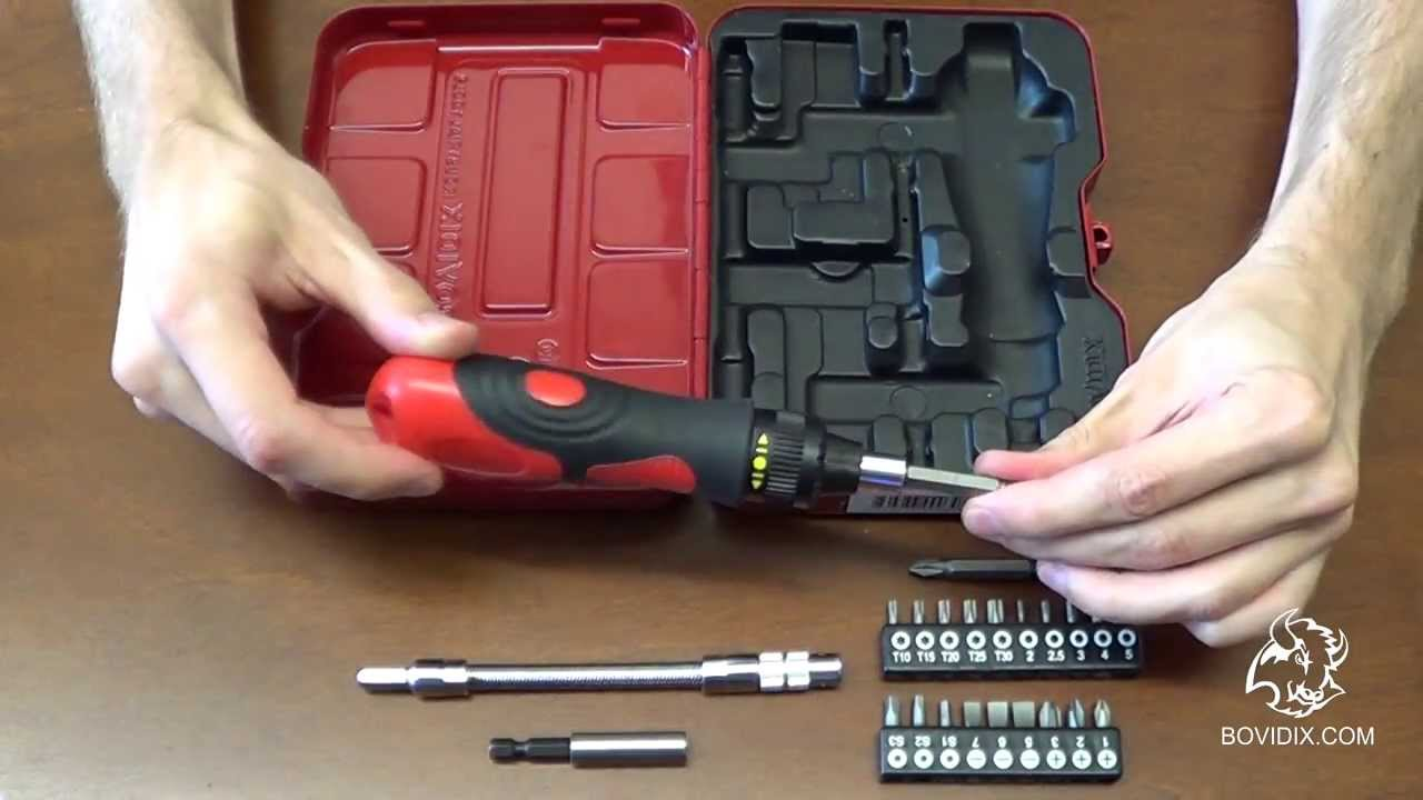 ratchet screwdriver set youtube. Black Bedroom Furniture Sets. Home Design Ideas