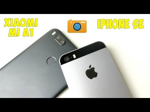 СРАВНЕНИЕ КАМЕР iPhone SE И Xiaomi Mi A1