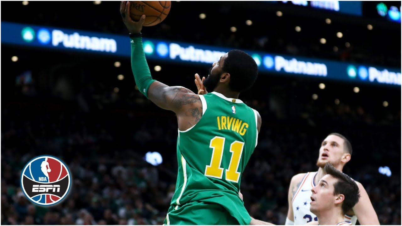 80dcb095999 How Kyrie Irving becomes unguardable when his jersey is untucked ...
