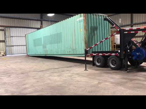 Images For Shipping Container Trailer >> Dyna Dolly Shipping Container Trailer Hauler