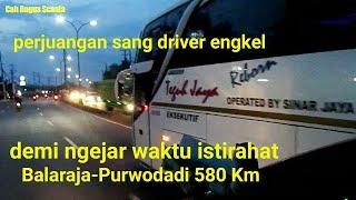 Pindah haluan 24Rc Sinar Jaya, 100Rb jurusan Wirosari-Balaraja (trip report mlm Sabtu)