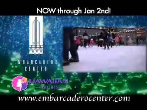 Holiday Ice Rink at the Embarcadero Center Promo 2