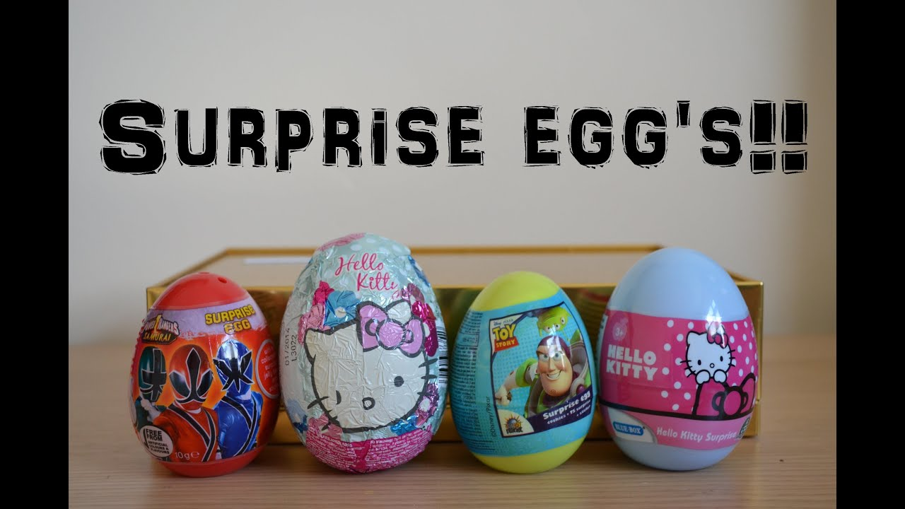 Hello Kitty And Toy Story Jessie Images : Surprise egg opening hello kitty sanrio toy story power