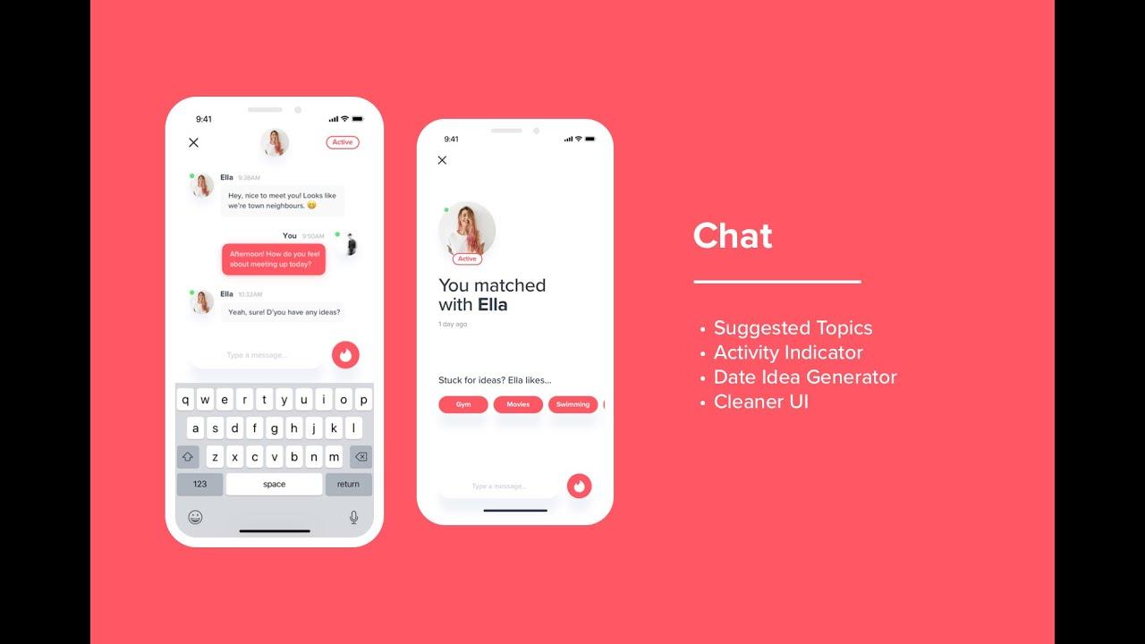 Tinder app chat