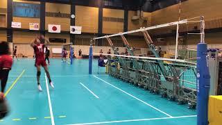全日本男子、秘密兵器のブロックマシンを公開 thumbnail
