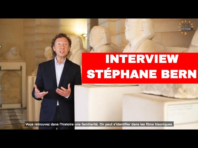 Interview de Stéphane Bern - Festival International du Film de Fiction Historique