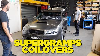 Disrespected Supergramps Coil Overs