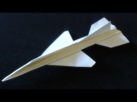 Cara Membuat Origami Pesawat  Supersonic | Origami Pesawat