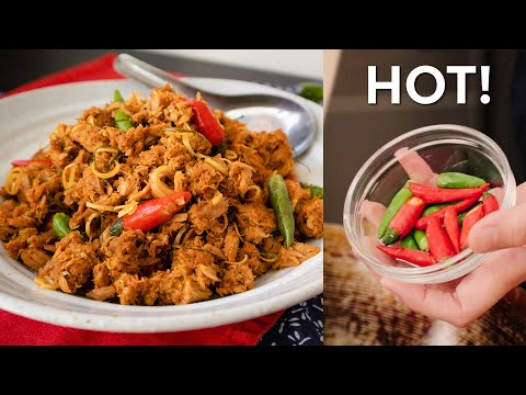 HOT THAI TUNA! - Red Curry Stir Fried Tuna Recipe