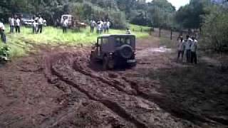 Modified Mahindra Thar at the Great Escape