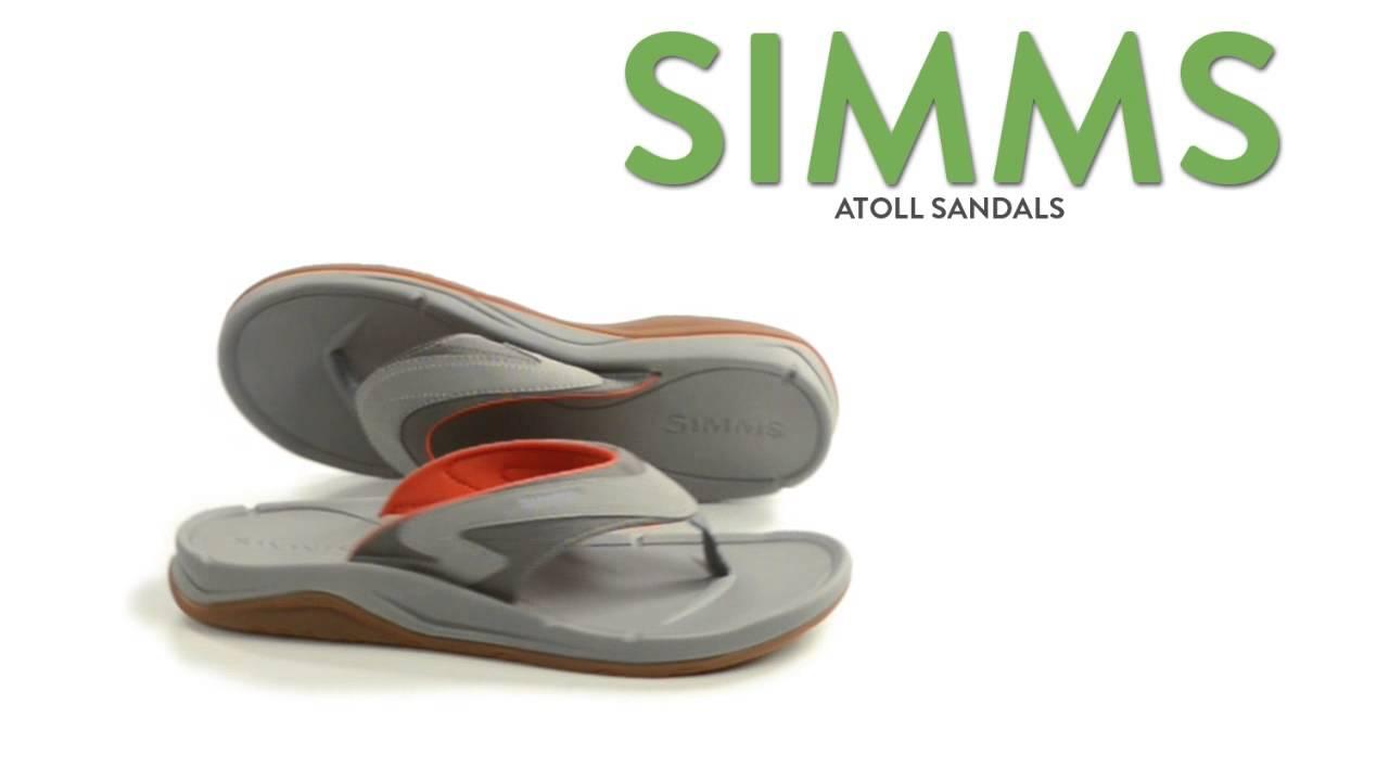 0fc79b1d6f6 Simms Atoll Sandals - Flip-Flops (For Men and Women) - YouTube
