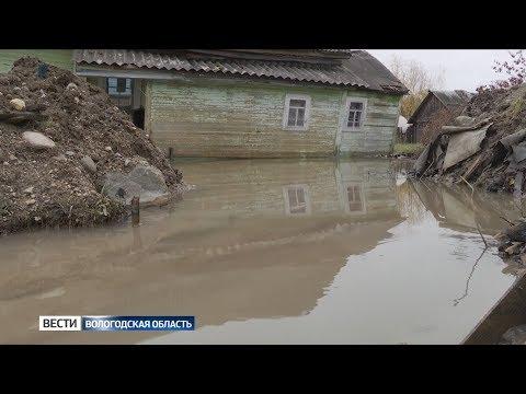 С прорывом скважины в Белозерске до сих пор борются специалисты