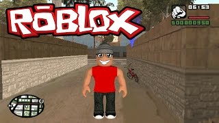 Roblox - GTA non Roblox (Grand Blox Auto)