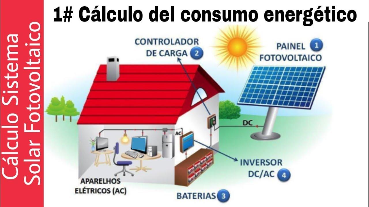 1 C 193 Lculo Sistema Solar Aislado Componentes Y Consumo