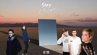 Video The Chainsmokers, Halsey, Zedd & Alessia Cara - STAY / CLOSER (Official Mashup) | by YUV download MP3, 3GP, MP4, WEBM, AVI, FLV Januari 2018