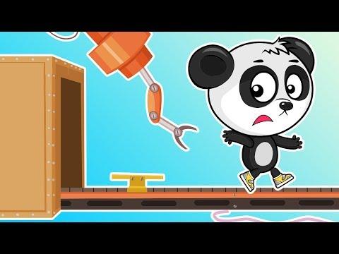 Развивающие Мультики Про Машинки - Автомобильный Завод (Новая Серия) - Мультфильмы Для Детей