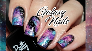 Galaxy Mani with HOLOS! | EASY Nail Art Tutorial
