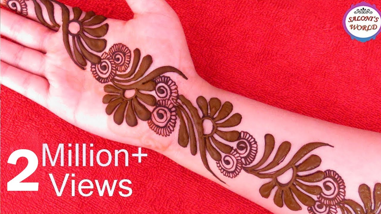 Latest 3d Mehndi Designs For Hands Arabic Henna Designs By Jyoti