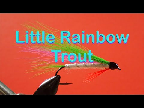 The Beginner's Fly Tying Series: Easy Streamer Series - The Little Rainbow Trout
