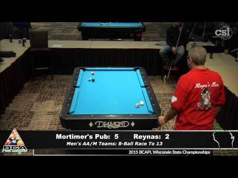 Mortimer's Pub vs Reyna's (Men's AA/Master Teams)