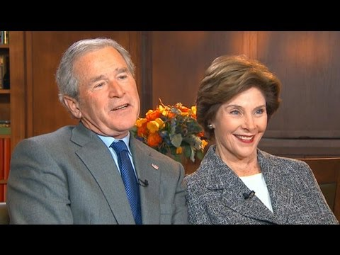 George W. Bush Interview 2013: President on Brother Jeb Running Against Hillary