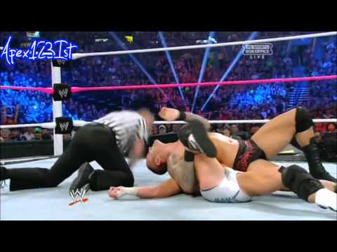 WWE Night Of Champions 2012 Randy Orton Vs Dolph Ziggler highlights.