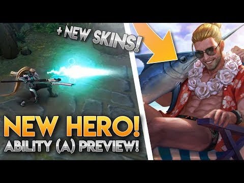 Vainglory News [Update 3.4] - MORE HERO NEWS + NEW SUMMER PARTY SKINS!