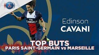 TOP BUTS DOMICILE : PARIS SAINT-GERMAIN vs OLYMPIQUE DE MARSEILLE