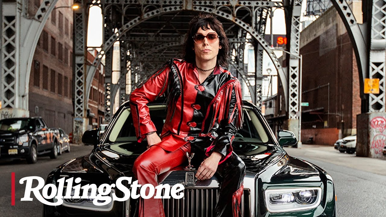 Luke Spiller of the Struts in a Rolls Royce Phantom | Rolling Stone