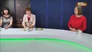 Гости Надежда Санталова и Ольга Ладанова