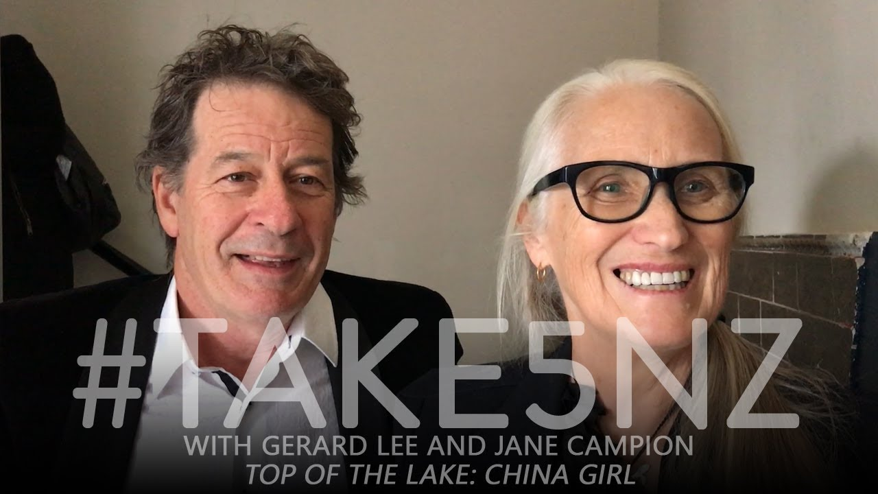 Download #Take5NZ with Jane Campion and Gerard Lee (Top of the Lake: China Girl)