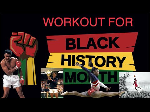 Pioneers in sports | Black History Month / African American history fitness