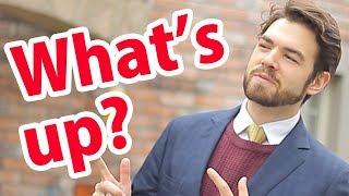 「what's up?」と聞かれたら 、どう答えればいいか知っていますか? thumbnail