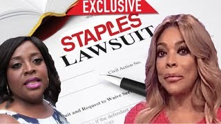 WENDY WILLIAMS IS BEING SUED BY A STAPLES EMPLOYEE-ALL DETAILS INSIDE!!