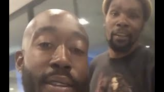 Kevin Durant Pulls Up To Freddie Gibbs House After DJ Akademiks Goes Off On Him