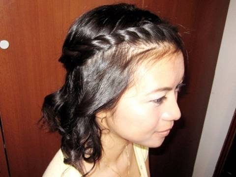 Bohemian Twist Rope Braid Hairstyle For Short Medium Long Hair