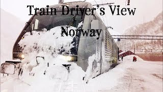 Video Train Driver's View: Winter on the Flåm Line download MP3, 3GP, MP4, WEBM, AVI, FLV Desember 2017