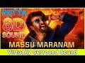 Massu Maranam | 8D Audio Song | Petta [Telugu] | Rajinikanth, Vijay Sethupathi | Anirudh Ravichander