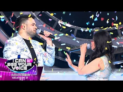 Deut Paling Hits! Ridho Rhoma feat Laila Canggung  - I Can See Your Voice (21/3)