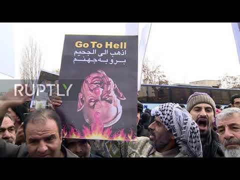 Iran: US flags
