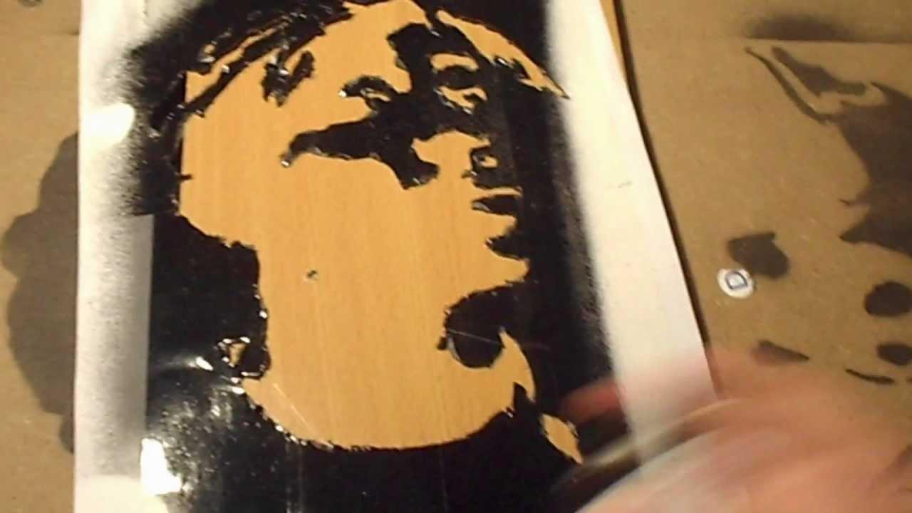 Tupac Stencil