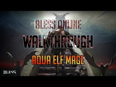 Bless Online Mage Guide lvl 25 - Skills | Ice Fire Air or Thunder