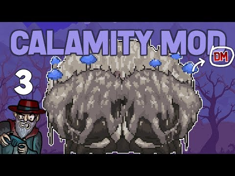 Terraria # 3 CRABULON + EYE OF CTHULHU! -  Calamity Mod D-Mode Let's Play